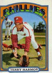 1972 Topps Baseball Cards      377     Terry Harmon